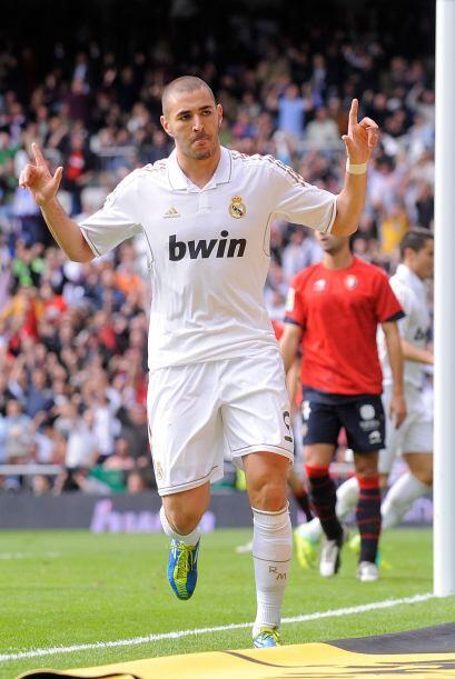 A pesar de que no es titular, siempre demuestra su gran fútbol.