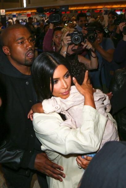 La Kardashian ha sido criticada por su desempeño como mamá...