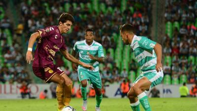 Santos igualó 1-1 con Dorados