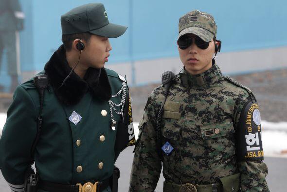 El hecho lo denunció en un principio Corea del Sur quien informó a la CT...