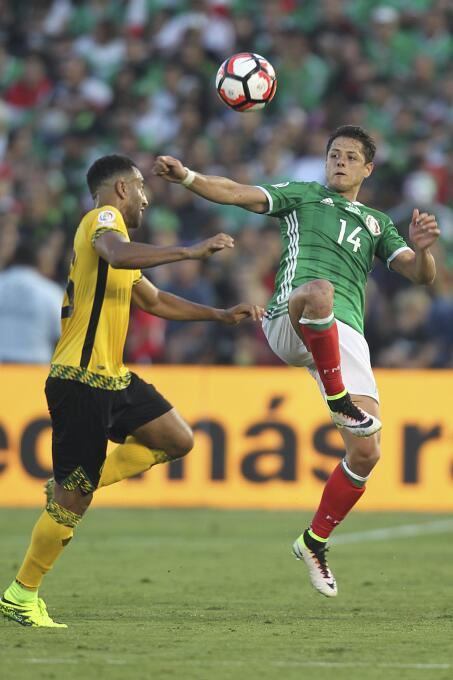 El ranking de los jugadores de México vs Jamaica 28-GettyImages-53917855...