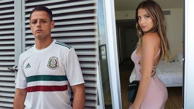 La nueva novia de 'Chicharito' y otros amores de verano de los famosos