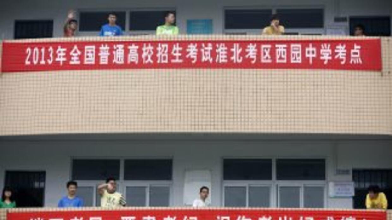 El sistema educativo chino es uno de los más estrictos.