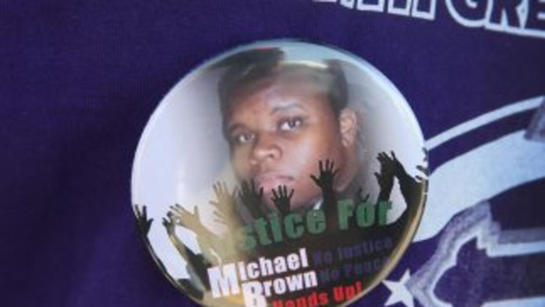 Michael Brown murió a causa de los disparos de Darren Wilson, un policía...