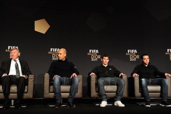 Los nominados a Mejor Jugador y Mejor Entrenador comparecieron ante los...