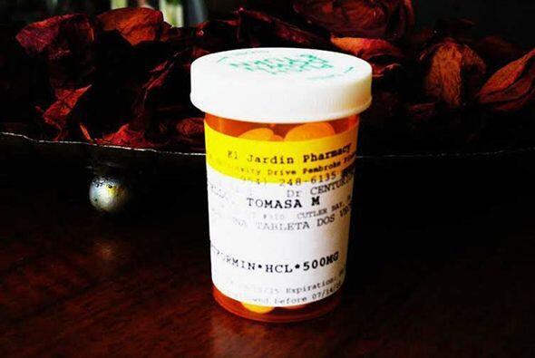 """""""Para la diabetes tomo un solo medicamento, de mis problemas de salud es..."""