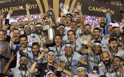 Gremio campeón de la Libertadores 2017