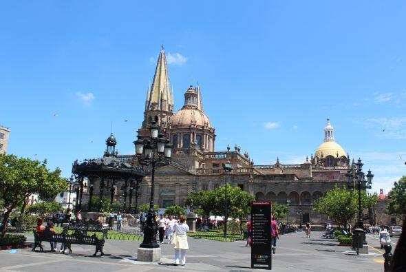 Primera parada: un paseo por el Centro Histórico de Guadalajara.