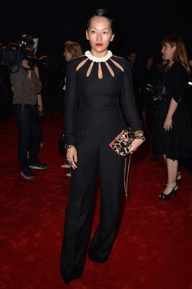 La blogger y 'fashion styling', Tina Leung no podía perderse uno de los...