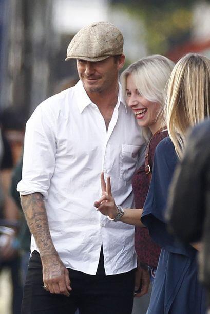 El matrimonio Beckham se ha caracterizado por ser uno de los más estable...