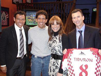 """En el 2009 nos visitó el """"Tiburón"""" Sánchez."""