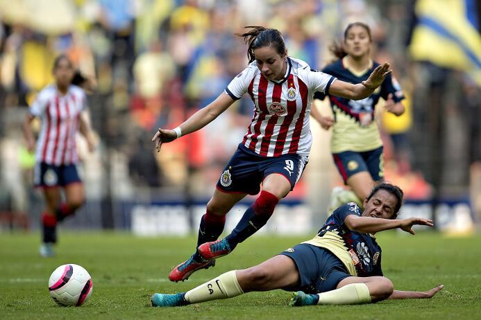 Semifinal América vs. Chivas Liga MX femenil