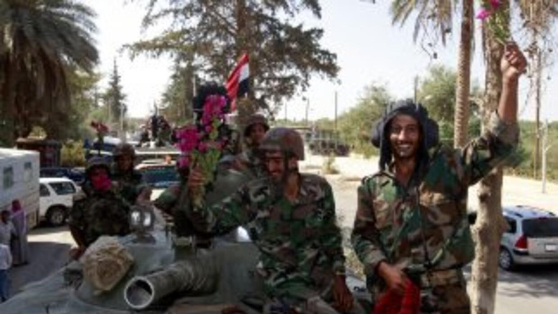 El ejército sirio controla gran parte del país y ha detenido las protest...