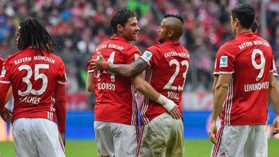 Bayern Múnich sigue intratable y gana 3-1 al Ingolstadt