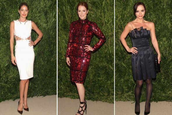 Celebridades, diseñadores y gente interesada en la moda fueron a...