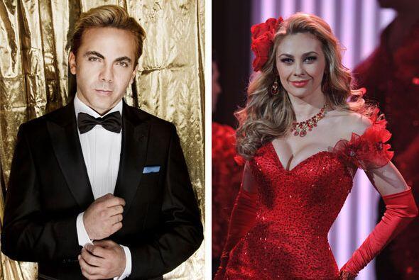 Aracely Arámbula y Cristian Castro son dos grandes estrellas mexi...
