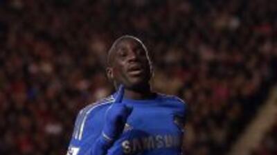Ba se estrenó en el Chelsea con un doblete.