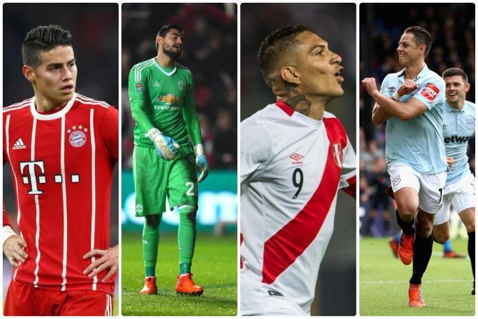 Latinos en futbol de Europa
