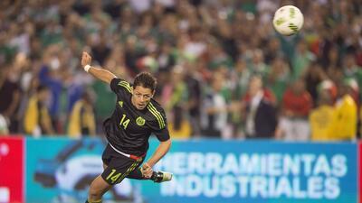 Chicharito, el mejor jugador en el triunfo de México sobre Chile