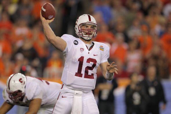 Andrew Luck, Quarterback, Stanford.