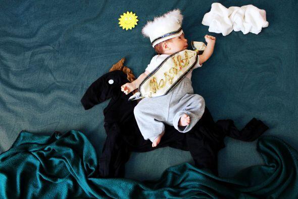 Una gran idea para realizar con tu bebé y guardar un bonito recuerdo de...