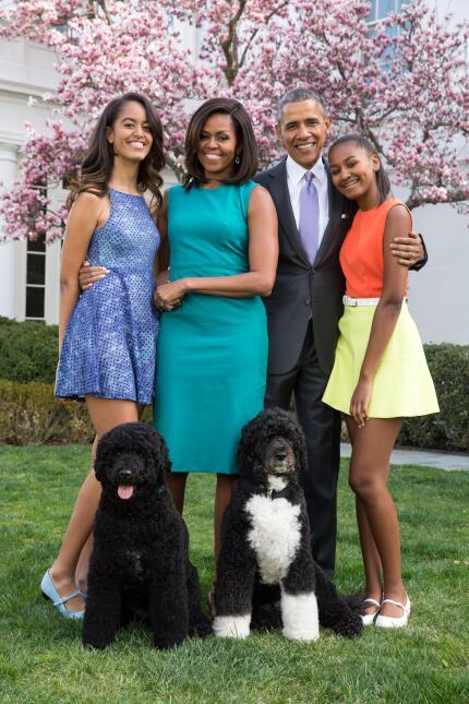 Malia Obama creció dándonos lecciones básicas de moda  GettyImages-50820...