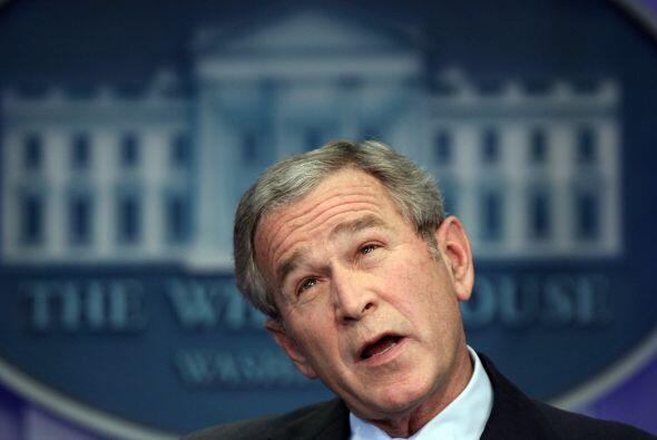En Texas se hizo una campaña nacional para que George Bush le con...
