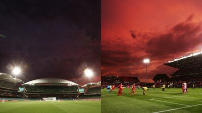 El deporte en Australia bajo el cielo rojo