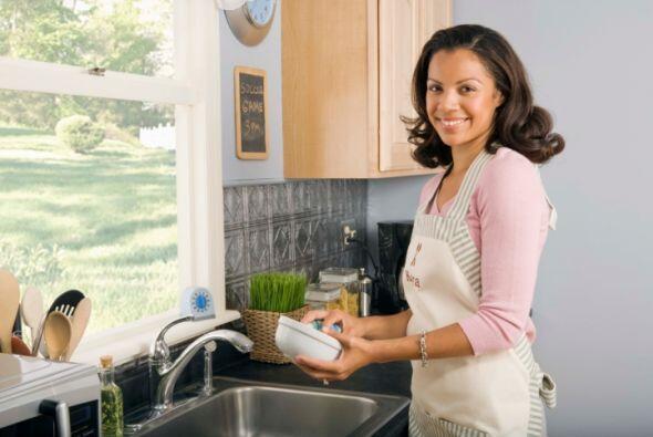 Si pensaste que lavar los azulejos de la cocina es buena idea, espera a...