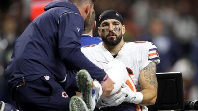 El duro accidente de Zach Miller en la NFL que tiene en peligro su pierna izquierda