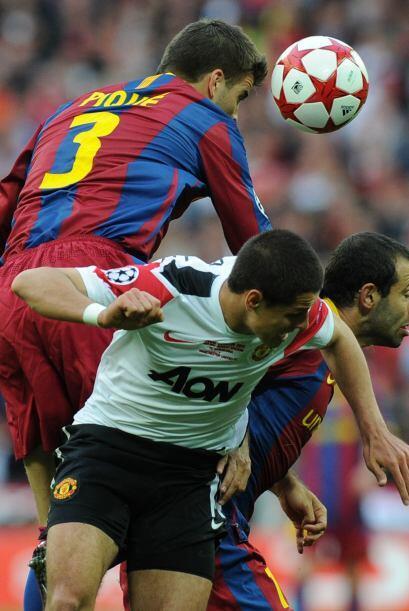 La marca fuerte de Piqué y el argentino Mascherano dejaron sin chances a...