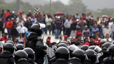 Enfrentamiento Chiapas