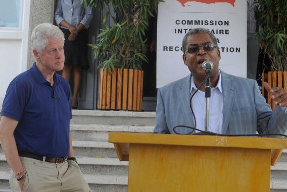 El primer ministro haitiano no ocultó su satisfacción por los logros que...