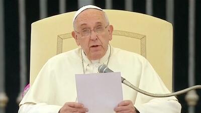 El Papa Francisco mostró su apoyo y solidaridad a México
