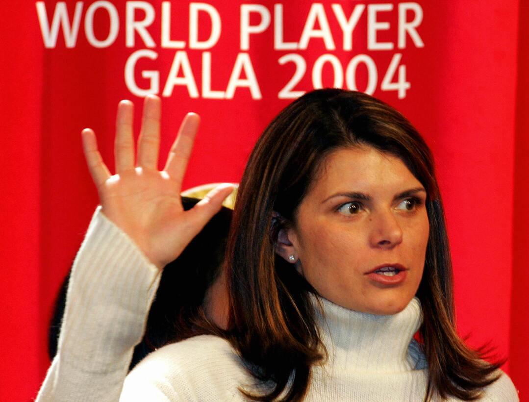 Los 45 años de Mia Hamm, 'la Pelé del fútbol femenino' GettyImages-51881...