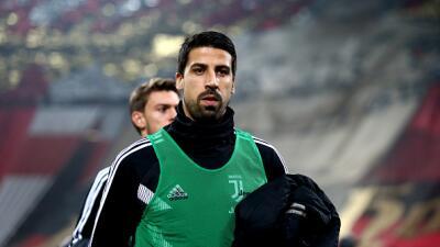 Sami Khedira es baja en la Juventus por un esguince de tobillo