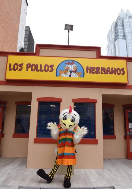 Los Pollos Hermanos abrió en Austin, Texas durante South By South West....