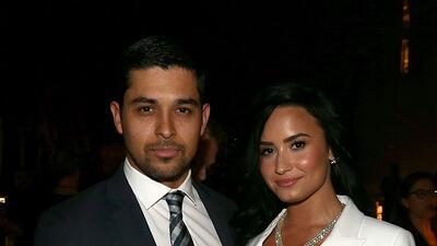 Estas son las fotos que reflejan la tristeza de Wilmer Valderrama después de visitar a Demi Lovato en el hospital