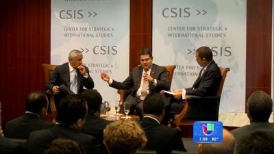 Obama se reúne con líderes centroamericanos en Washington