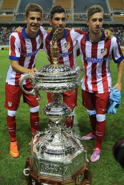 Es el noveno trofeo veraniego de la ciudad de Cadiz que gana el Atl&eacu...