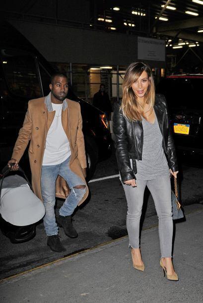 Kanye West y NorthEl famoso rapero está que no cabe de la felicidad desd...