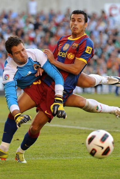 Las llegadas del Barça no paraban y era cuestión de tiempo para que volv...