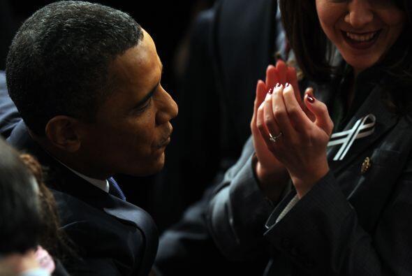 El discurso de Obama se caracterizó por el llamado a la unidad de los pa...