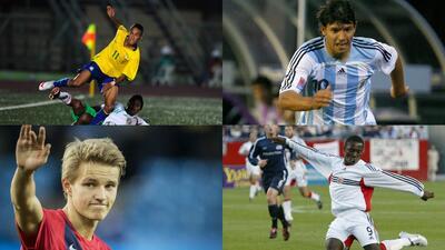Futbolistas que debutaron como profesionales antes de los 16 años