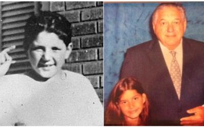 Las fotografías de ella y su abuelo, que la sobreviviente del tir...