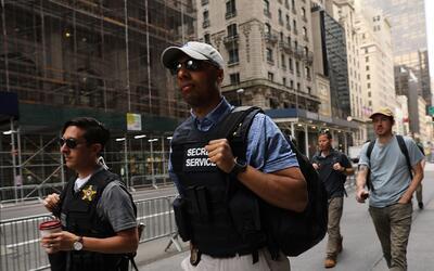 En septiembre se agotan los fondos del Servicio Secreto para proteger a...