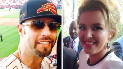 Al parecer Esteban Loaiza y Alicia Machado saben disfrutar de las mieles...