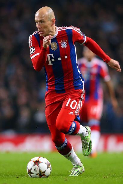 Arjen Robben: Pero si se trata de habilidad, nadie como Robben. El fen&o...