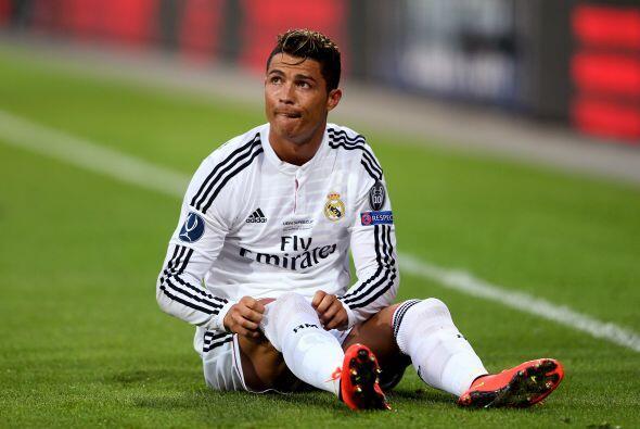 Cristiano Ronaldo intentó tomar el control de las acciones en ofensiva d...