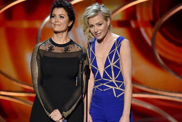 Bellamy Young y Portia de Rossi hablaron de los nuevos programas que han...